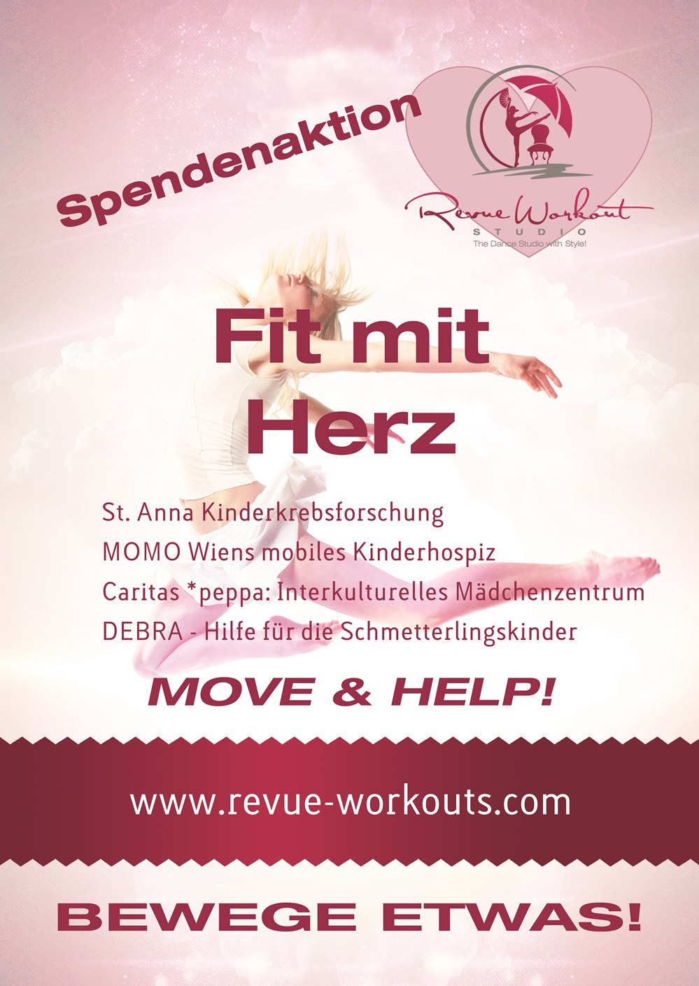 Spendenaktion-Flyer